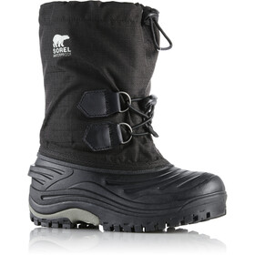 Sorel Youth Super Trooper Black/Light Grey